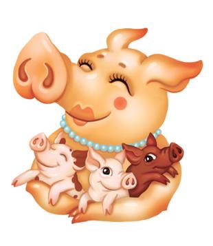 01_pigs-family